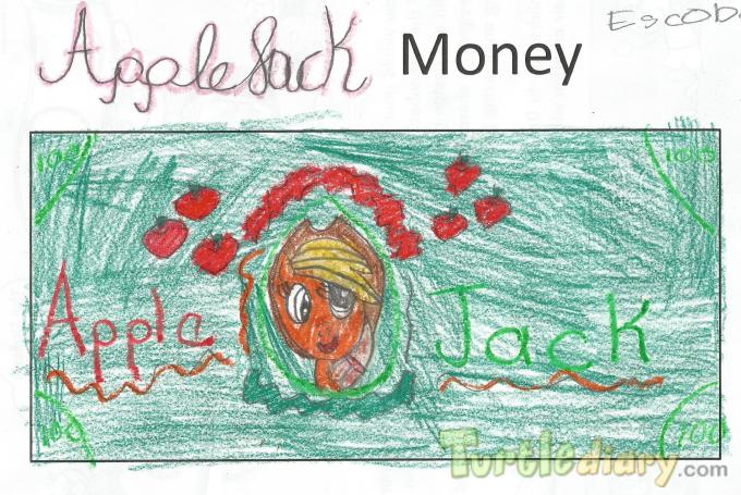 Apple Jack Money  - Design Your Own Money Contest March 2015 Submission