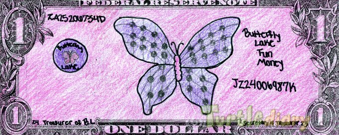Butterfly Lake - Design Your Own Money Contest March 2015 Submission