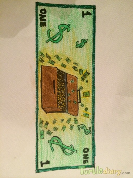 treasure bill - Design Your Own Money Contest March 2015 Submission