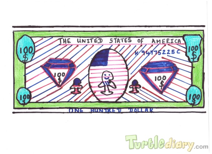 Awesome U.S.A dollar bill - Design Your Own Money Contest March 2015 Submission
