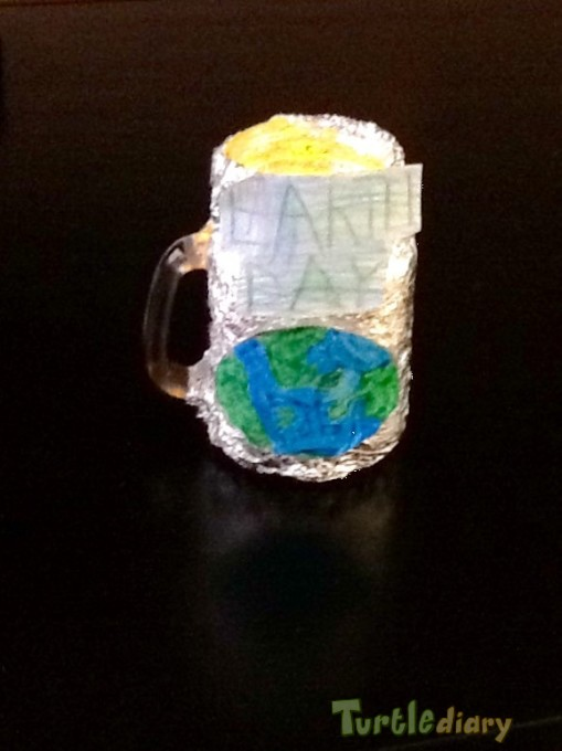 Earth Day Night Light - Earth Day Contest April 2015 Submission