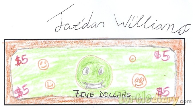 turtle dollars - Design Your Own Money Contest March 2015 Submission