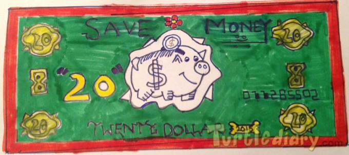 Save money for future - Design Your Own Money Contest March 2015 Submission