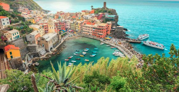 Milan: Cinque Terre Full-Day Guided Trip With Cruise