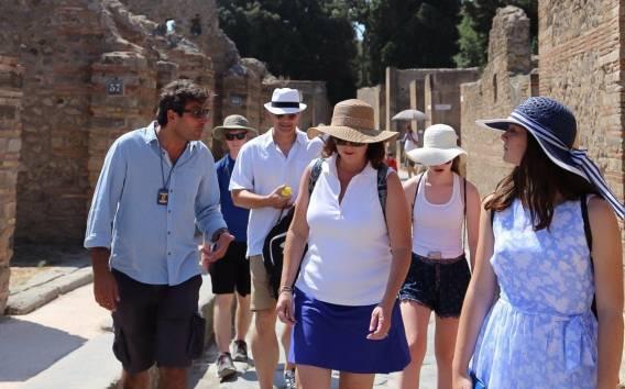 Pompeji-Ruinen: Kleingruppentour mit Einlass ohne Anstehen