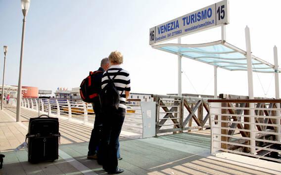 Transfer taksówką wodną z lotniska Marco Polo w Wenecji