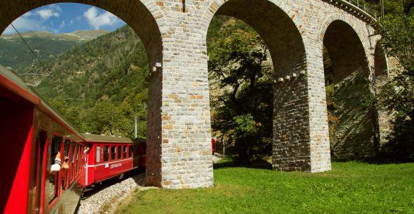 Bernina & St.Moritz Day Tour from Milan