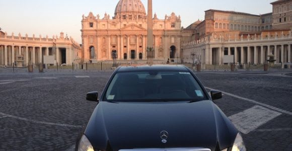 Fiumicino Airport Private Luxury Transfers to Rome