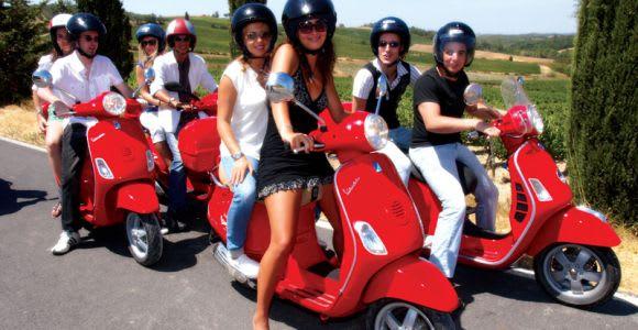 From Siena: Chianti Day Trip on a Vespa