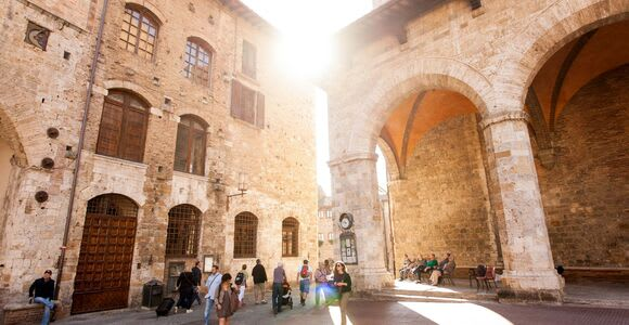 San Gimignano, Siena, Chianti Guided Tour from Florence