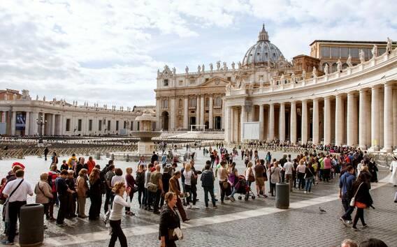Basilica di San Pietro: ingresso dedicato e tour autonomo