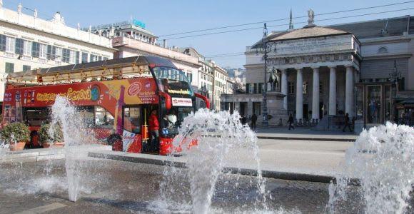 Genoa: Hop-on Hop-off Tour 24 or 48-Hour Ticket