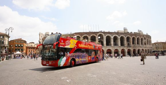 Verona: Hop-on Hop-off Tour 24 or 48-Hour Ticket
