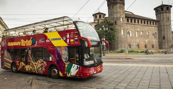Torino: biglietto da 24/48 ore per l'autobus Hop-on Hop-off