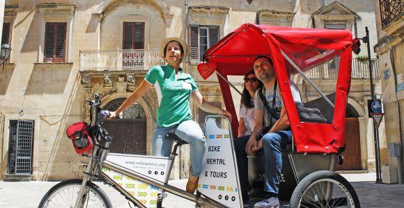 Lecce: Guided Rickshaw Tour