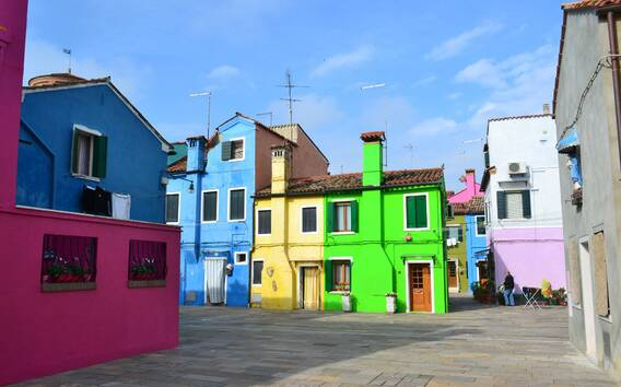 Murano e Burano: tour in barca da 4 ore e mezza da Venezia