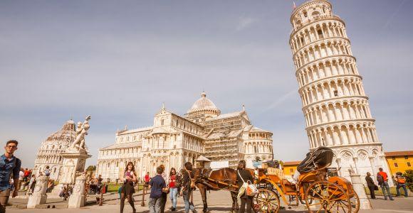 Pisa: tour di 1 giorno e torre pendente da Firenze
