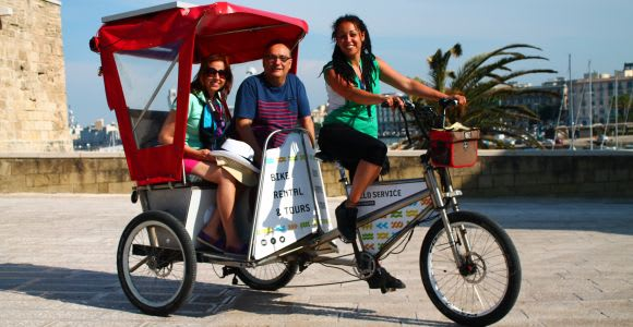 Bari: Bike-Rickshaw City Tour