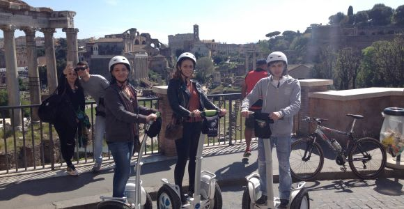 Roma: tour panoramico di 2 ore in Segway