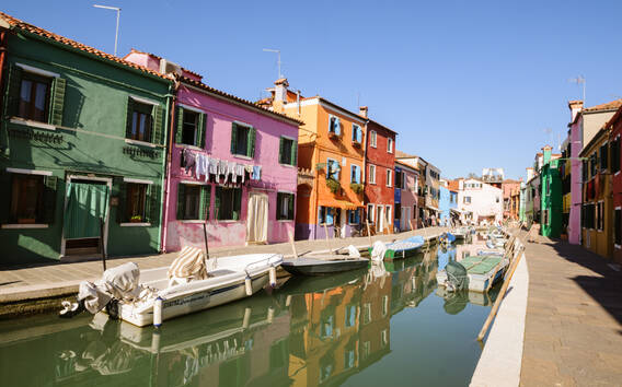 Wycieczka łodzią: Wyspy Murano, Torcello i Burano