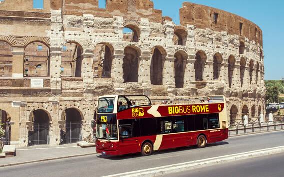 Roma: tour in autobus panoramico scoperto