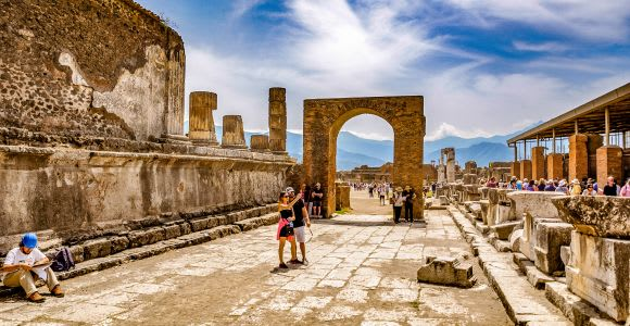 From Rome: Pompeii and Mt. Vesuvius Volcano Full-Day Trip