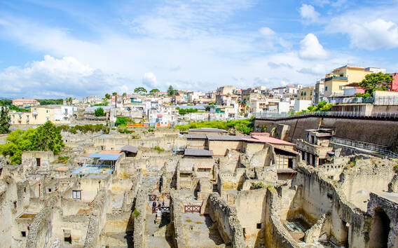 Herculaneum: Ticket mit bevorzugtem Einlass
