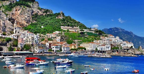 Full-Day Amalfi and Positano Boat Tour from Sorrento