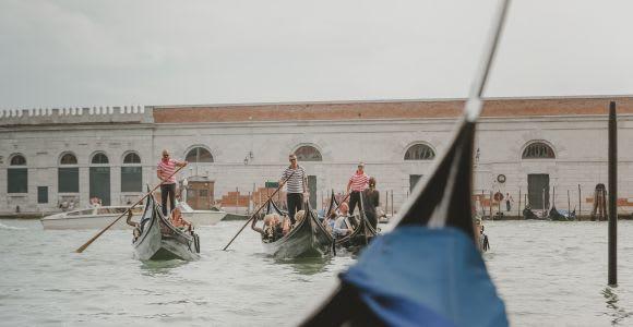 Venise: séance photo privée de 2 heures avec balade en gondole