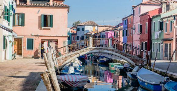 Venise: excursion d'une demi-journée en bateau sur le Grand Canal, Murano et Burano