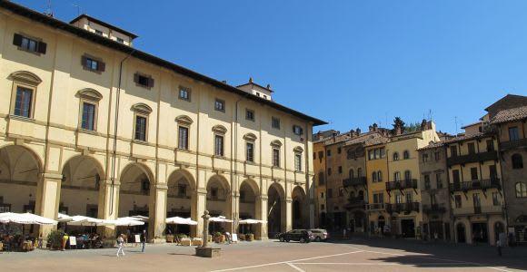 Visite guidée privée à pied d'Arezzo de 2,5 heures