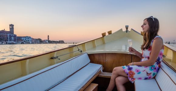 Venice Romantic Sunset Tour by Typical Venetian Boat