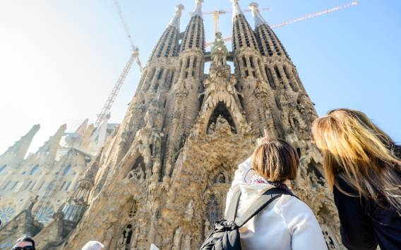 Barcelona: Sagrada Familia Fast-Track Morning Guided Tour