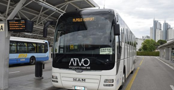 Marco Polo Airport: Express Bus to or from Jesolo Lido