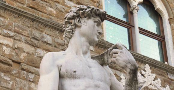 Florence: Early Bird Walking Tour & Accademia Visit (David)
