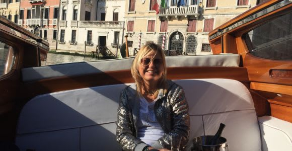 Venice: Private Airport Transfers by Luxury Water Taxi
