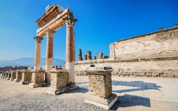 Ab Neapel: Halbtägige Tour nach Pompeji