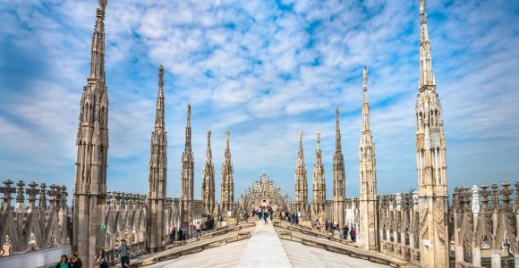 Skip-the-Line 2.5-Hour Milan Duomo and Terrace Tour
