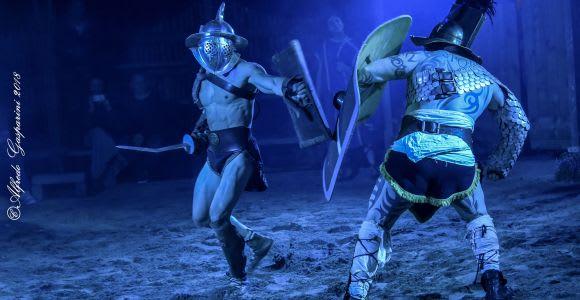 Roma: spettacolo dei Gladiatori