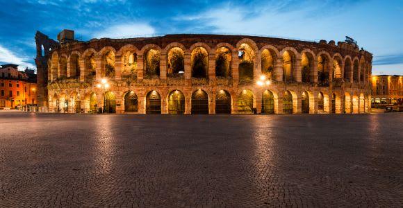 Verona: tour a piedi al chiaro di luna