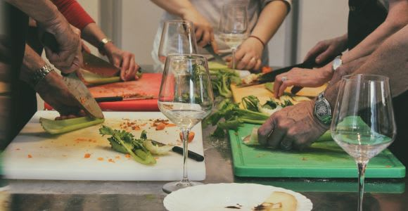 Poggibonsi: 4-Course Cooking Class with Wine Tasting