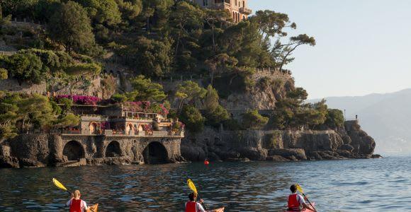 Easy Kayak Tour to Portofino with Optional Snorkeling