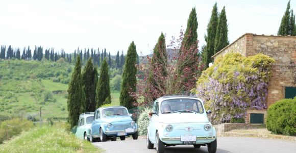 From San Gimignano: Vintage Fiat 500 Self-Drive Chianti Tour