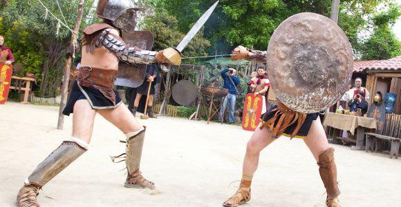 Roma: scuola dei gladiatori