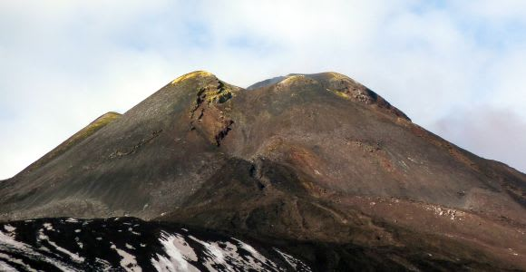 Mount Etna: Excursion to the Base of the Summit Craters