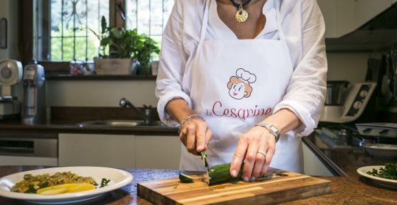 Cours de cuisine privée à domicile sur le lac de Côme