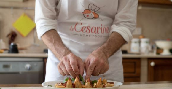 Lucca Market Tour and Home Cooking Class