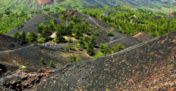 Mount Etna Hike & Wine Tour