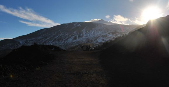From Catania: Mount Etna Sunset Tour