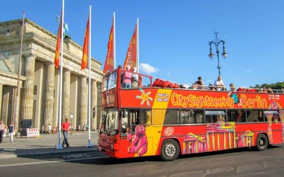 Berlino: biglietto da 24 ore per l'autobus Hop-on Hop-off